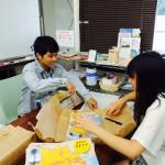 【8月27日 復興マップの配架手伝い】